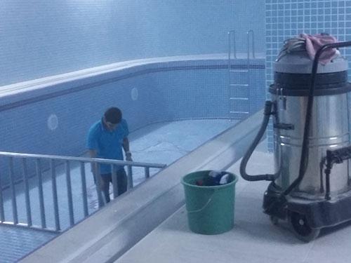 inşaat sonrası havuz temizliği